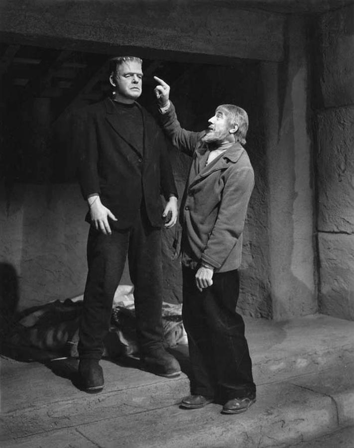 Lon Chaney Jr. and Bela Lugosi
