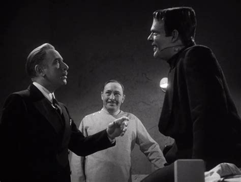 From left to right: Cedric Hardwicke, Lionel Atwill and Lon Chaney Jr.